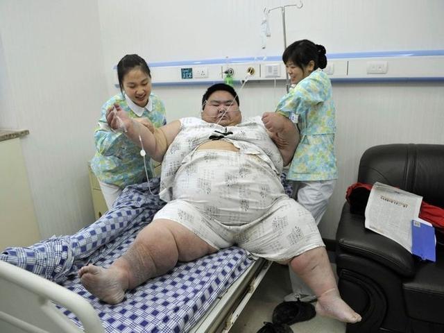 O Çin'in en kilolu adamıydı