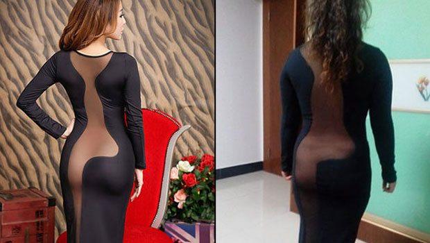 Şimdi de bu elbise tartışılıyor