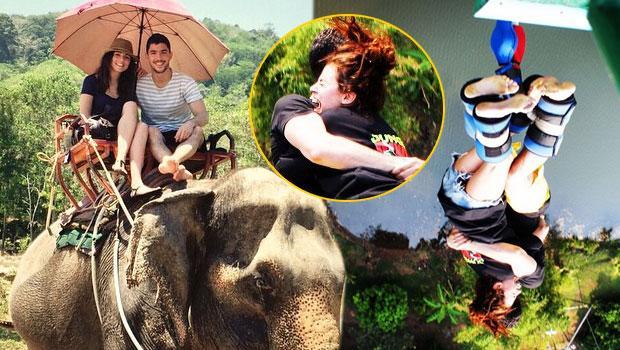 Ünlü çiftin Phuket tatili
