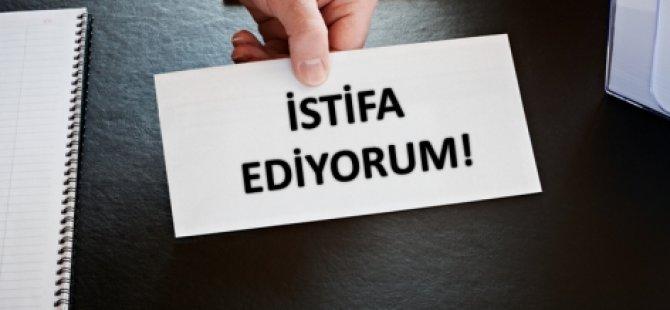 İSTİFA ETTİ!