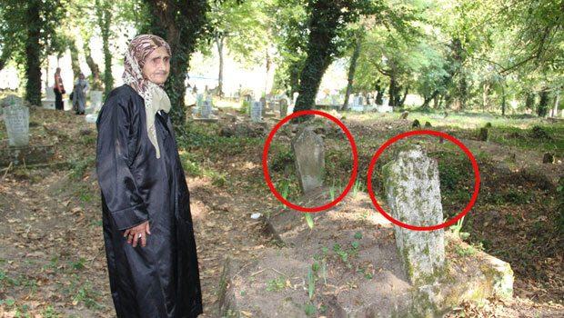 20 günlük bebeğin mezarı görenleri şok etti!