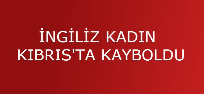 İNGİLİZ KADIN KIBRIS'TA KAYBOLDU