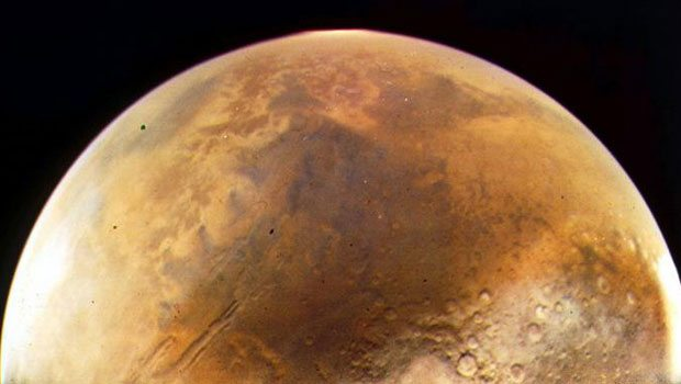 Mars'tan flaş haber, Hayat...