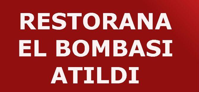 RESTORANA EL BOMBASI ATILDI