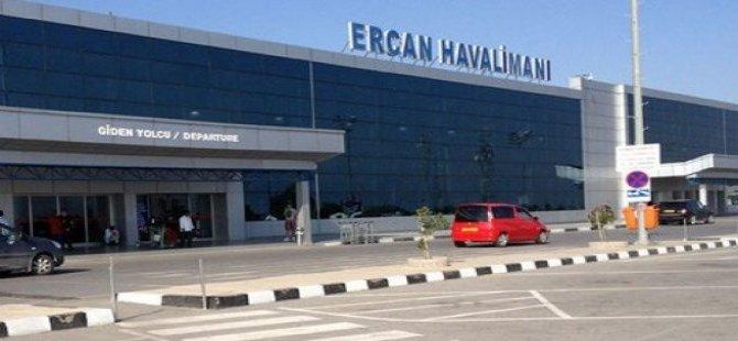 ERCAN HAVALİMANI'NDA