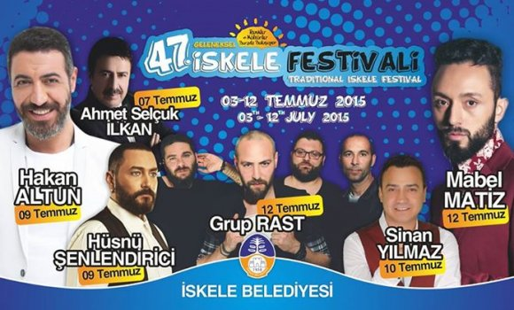 Festival 3 Temmuz'da