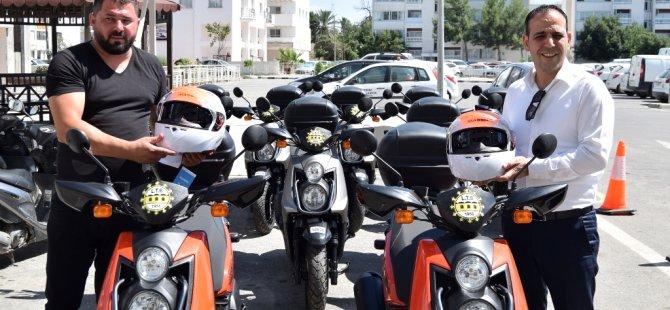 LTB 10 MOTOSİKLET ALDI