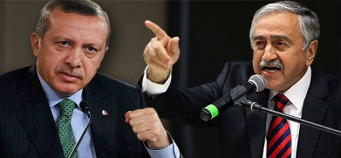 """ERDOĞAN """"ANA"""" İLE KKTC'YE GELDİ"""