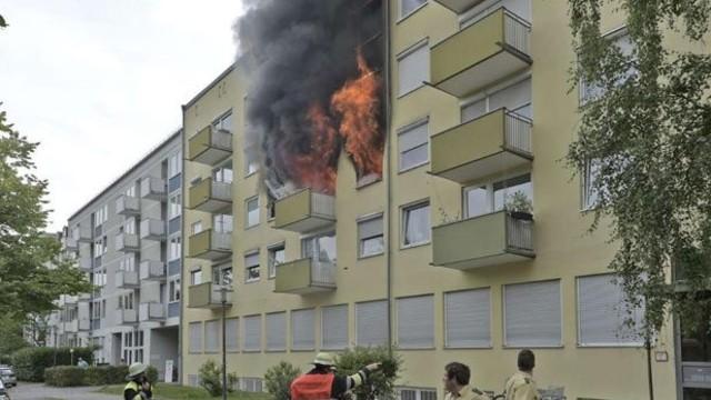 Ev sahibine kızdı, daireyi havaya uçurdu
