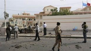 SOMALİ'DE OTELE SALDIRI