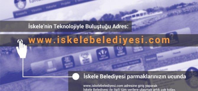 İSKELE'DE E-BELEDİYECİLİK...