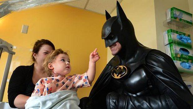 Batman trafik kazasına kurban gitti!