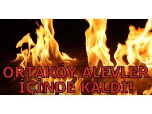 ORTAKÖY ALEVLER İÇİNDE KALDI!