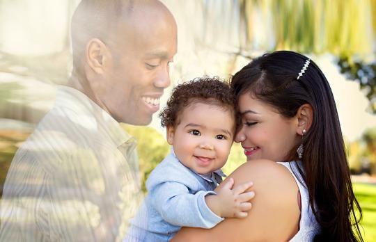 Hiç sahip olamayacağını düşündüğü aile fotoğrafı artık var
