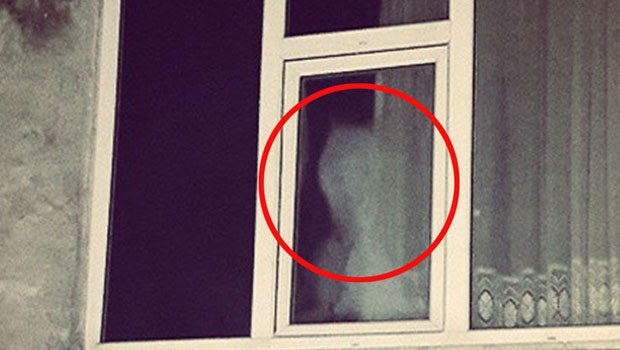 Penceredeki 'hayalet'in gizemi ortaya çıktı