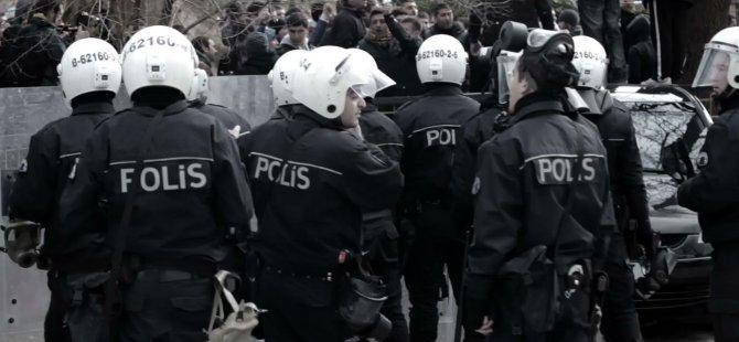 POLİS TEŞKİLATINDA  'DÖVME ' İKAZI