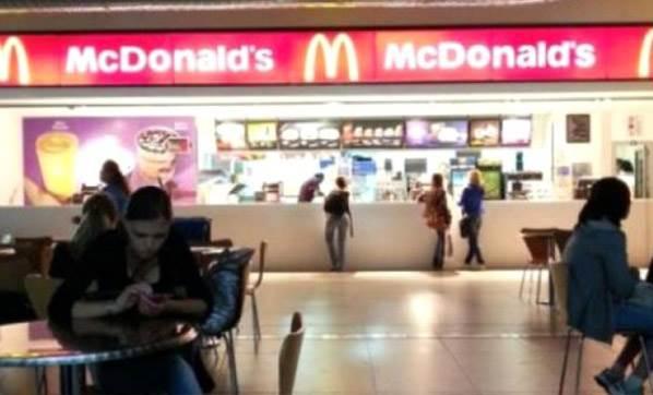 McDonald's'da Öldüğünü...