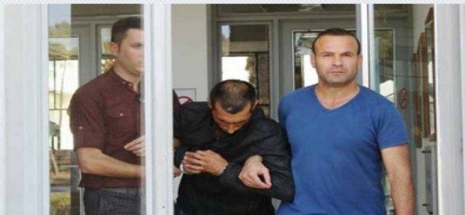 POLİSİN BURNUNU KIRDI