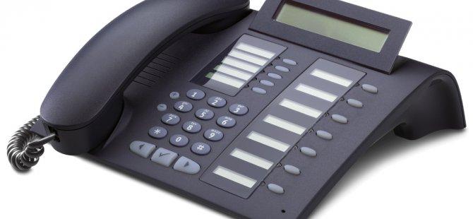 BU BÖLGEDE TELEFONLAR ÇALIŞMAYACAK!