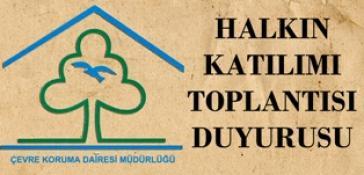 """HALKIN KATILIMI TOPLANTISI"""