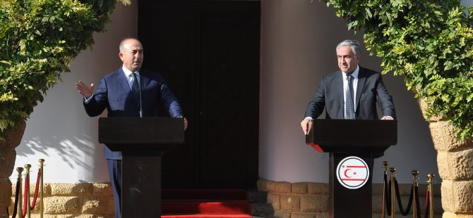 """ÇAVUŞOĞLU: """"ÇÜNKÜ BU YAKALANAN SON BİR FIRSAT'"""