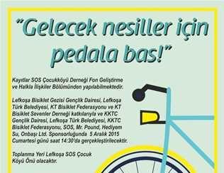 SOS ÇOCUK KÖYÜ YARARINA BİSİKLET TURU