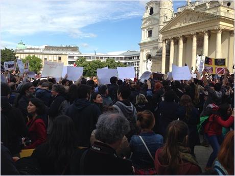 VİYANA'DA GEZİ PARKI PROTESTOSU