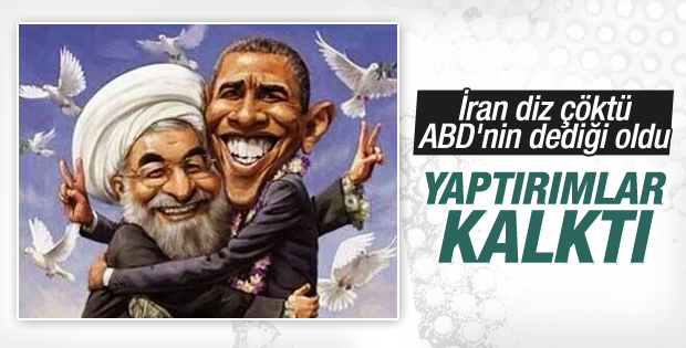 İran diz Çöktü