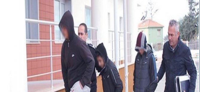 16 YAŞINDA POLİS HÜCRESİ İLE TANIŞTILAR