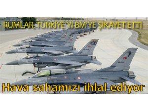 HAVA SAHAMIZI İHLAL EDİYOR!