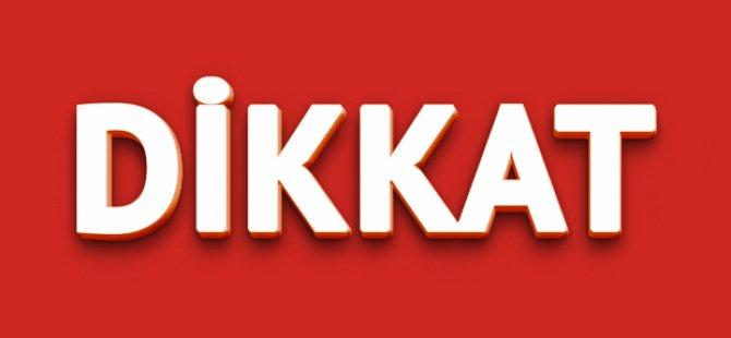 KIBRIS'A DİKKAT!