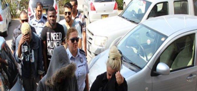 UYUŞTURUCU PARTİSİNİ POLİS BASTI