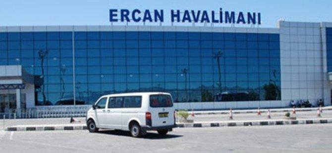 ERCAN HAVALİMANI'NDAN, DÜN
