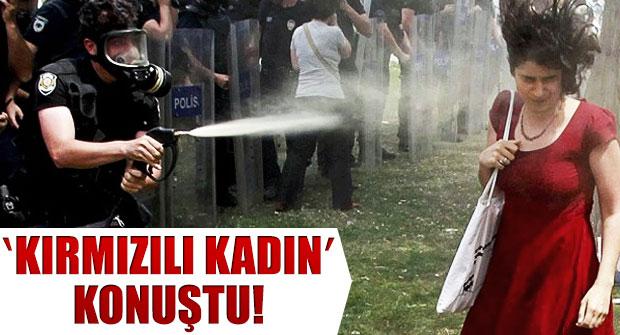 'KIRMIZILI KADIN' İNGİLİZ BASININA KONUŞTU