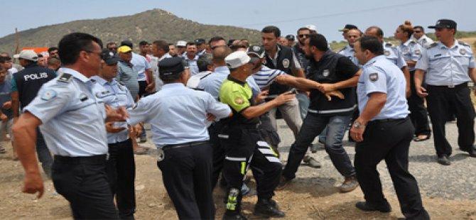 POLİS DİRENİŞİ KIRDI, BUNGALOVLAR MÜHÜRLENDİ