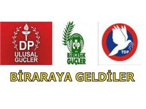 CTP-BG, DP-UG VE TDP MECLİS'TE BİRARAYA GELDİ