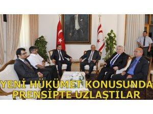 CTP-BG, DP-UG VE TDP YENİ HÜKÜMET KONUSUNDA PRENSİPTE UZLAŞTI