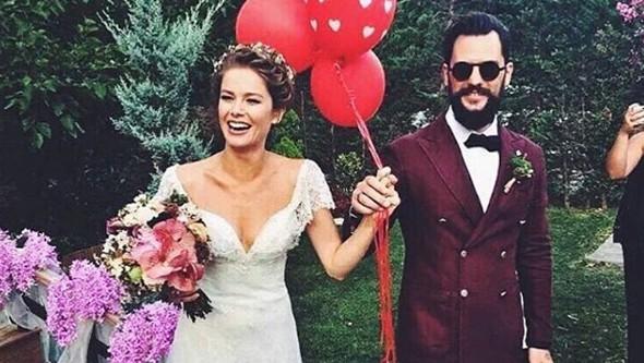 Burcu Biricik'in düğünü sosyal medyayı salladı