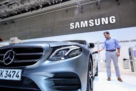 Samsung ve Mercedes'ten Yeni Teknoloji!