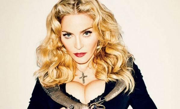 Madonna, Clinton İçin Soyundu!