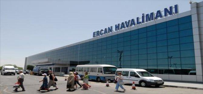 ERCAN DEVLET HAVALİMANI'NDAN,