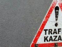 MOTOR KAZASI:1 KİŞİ AĞIR YARALI!